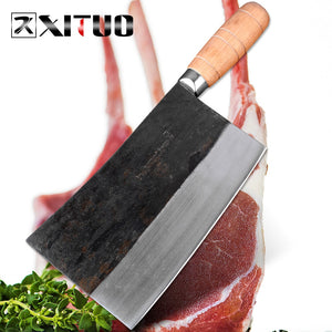XITUO big Asian Chinese meat cleaver Butcher slaughter knive