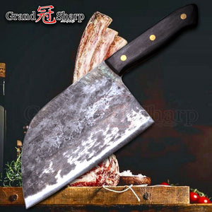Handmade Forged Chinese Cleaver Chef Knife