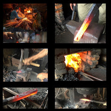 Load image into Gallery viewer, Handmade Forged Chinese Cleaver Chef Knife