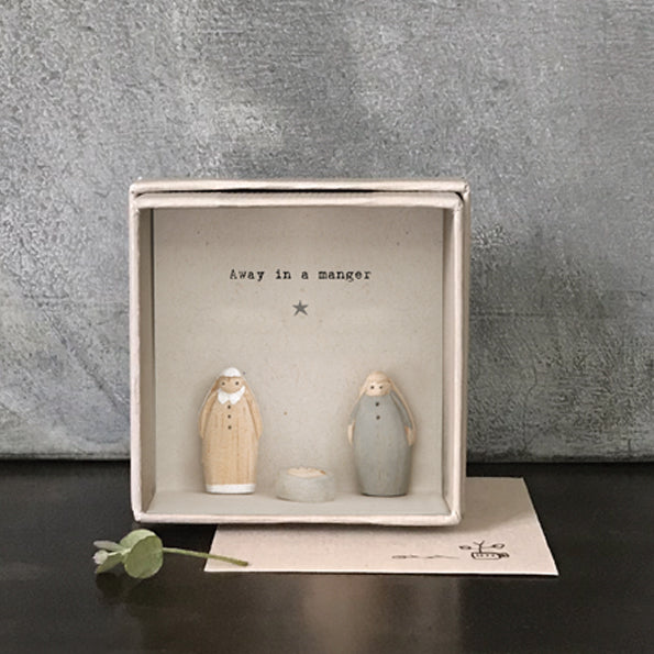 Mini Boxed Nativity Card