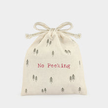 Small No Peeking Drawstring Bag