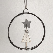 Small Wire Christmas Tree Bauble