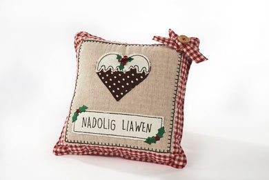 Small Heart Pudding Cushion