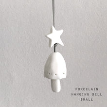 Small Porcelain Hanging Bell Tree Decoration