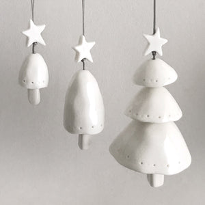 Layered Porcelain Tree Bell