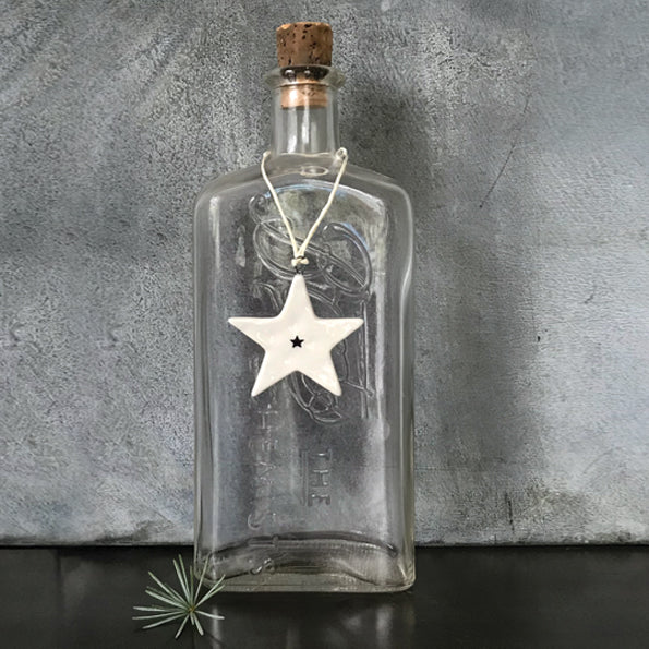 Porcelain Small Star Decoration