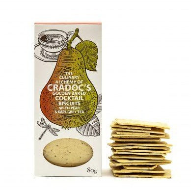 Pear and Earl Grey Crackers by Cradocs