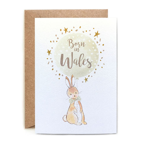 Born in Wales New Baby Card