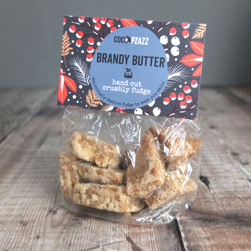 BrandyButter Crumbly Fudge