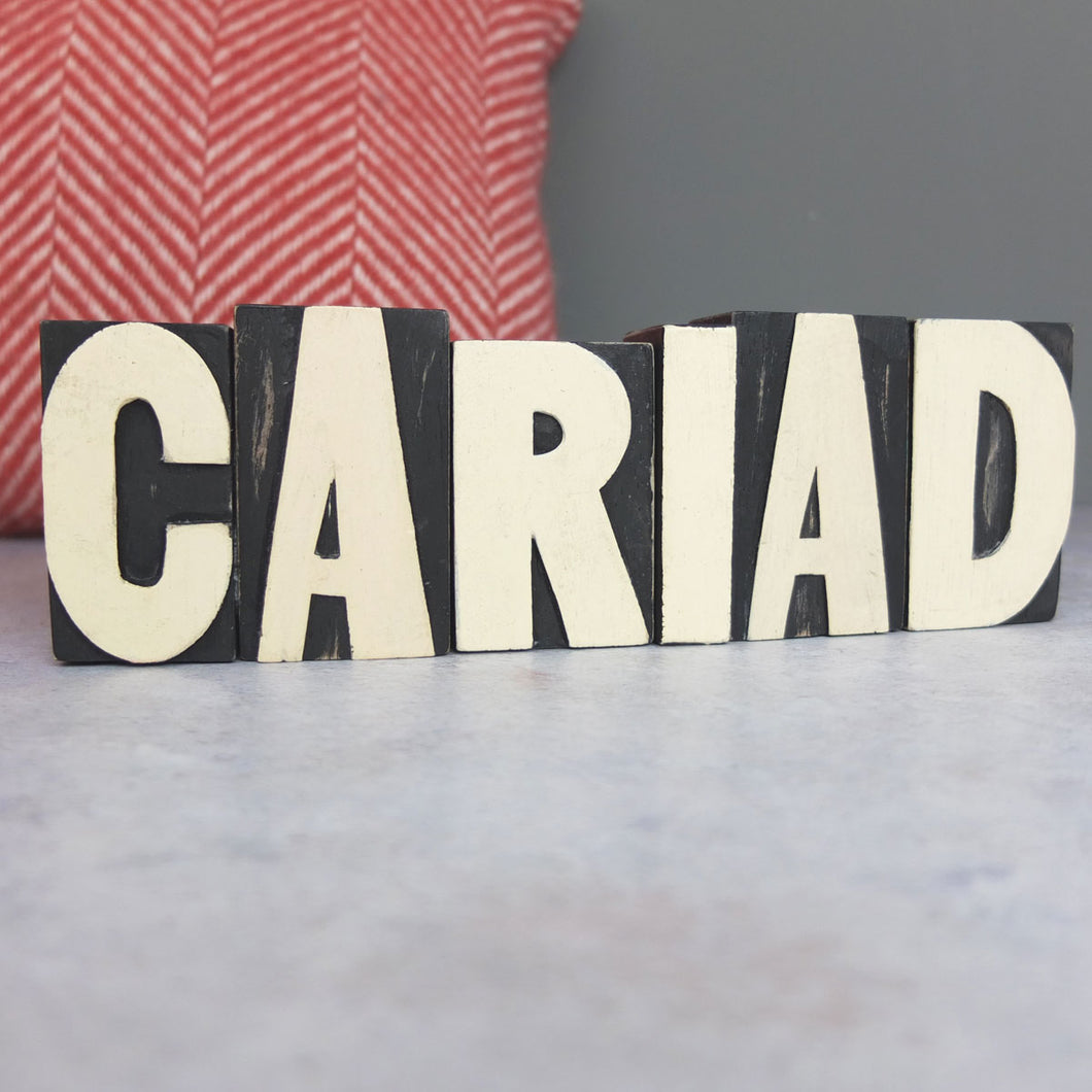 Cariad Letter Block