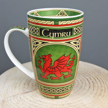 Celtic Dragon Window Mug
