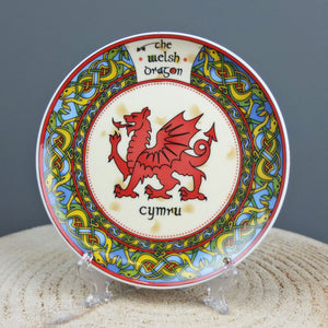 Celtic Welsh Dragon Plate