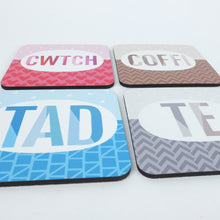 Welsh Tad Coaster in Blue