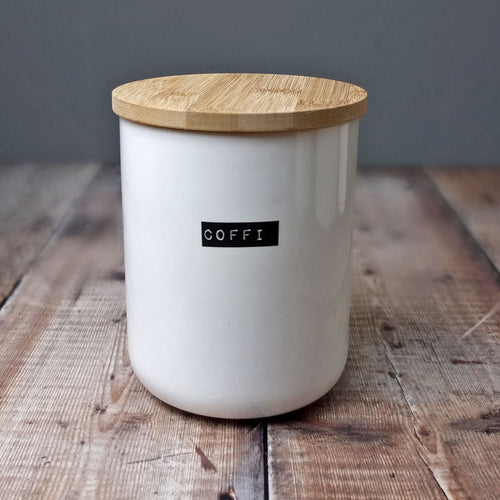 Coffi Bone China Container