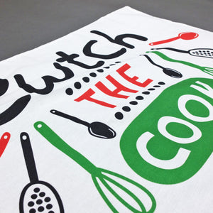 Cwtch The Cook Tea Towel