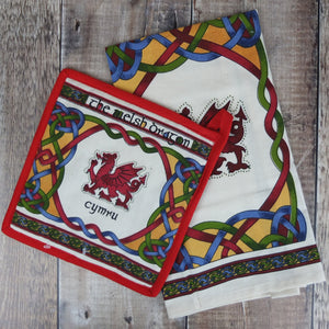 Welsh Weave Tea Towel Set