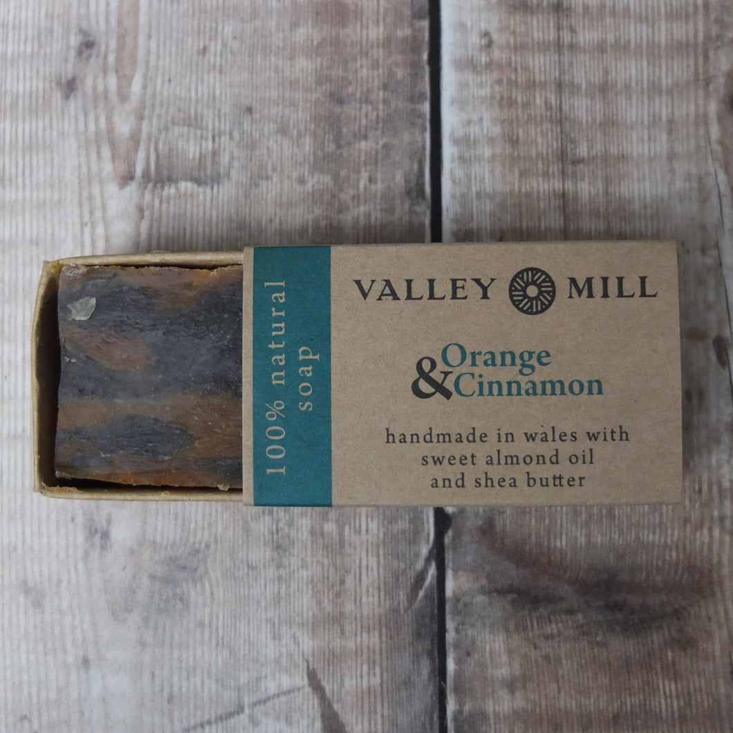 Orange and Cinnamon Soap by Valley Mill