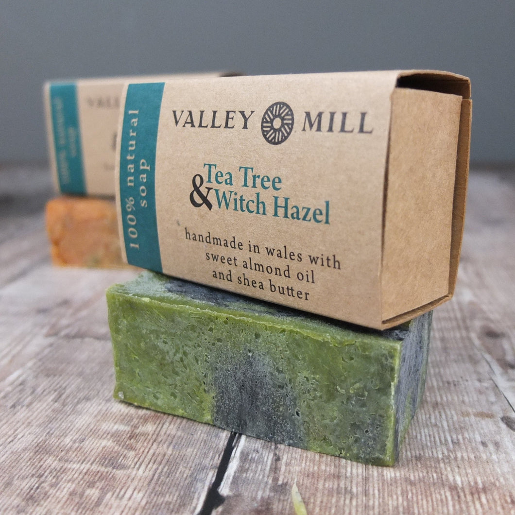 Tea Tree and Witch Hazel Soap by Valley Mill