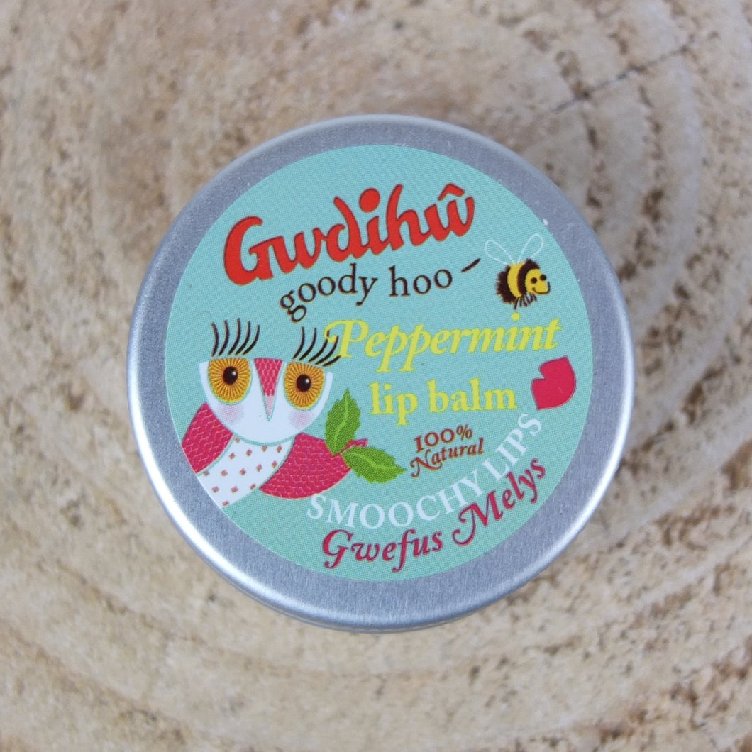 Gwdihw Peppermint Lip Balm