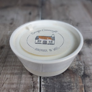Welsh Hedgerow Ceramic Bowl Candle by Bougie Cannwyl
