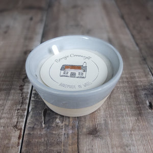 Hiraeth Ceramic Bowl Candle by Bougie Cannwyl