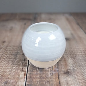 Hiraeth Ceramic Globe Candle by Bougie Cannwyl