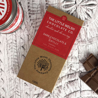 Dark Chocolate and Chilli - Little Welsh Chocolate Company