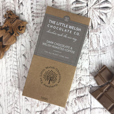 Dark Chocolate & Welsh Roasted Coffee Bar