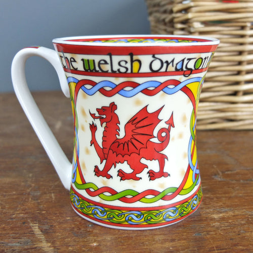 Welsh Weave Dragon Mug