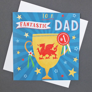 Fantastic Dad Greeting Card