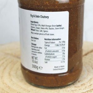 Fig and Date Chutney by Welsh Lady Preserves