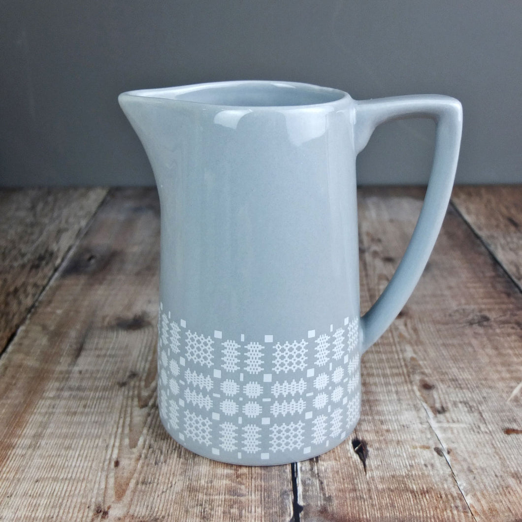Grey Welsh  Tapestry Jug