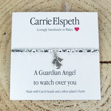 Carrie Elspeth 'A Guardian Angel to Watch Over You' Sentiment Bracelet