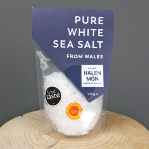 Pure White Sea Salt 100g by Halen Mon