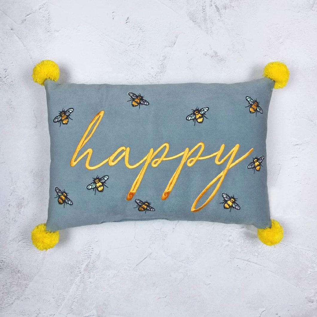 Happy Luxe Bee Cushion