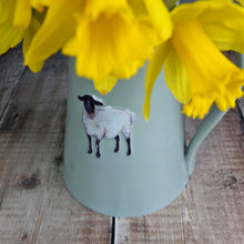 Grey Ceramic Embossed Sheep Jug