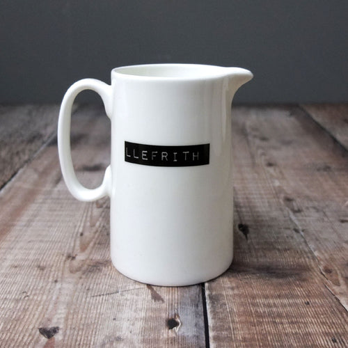 llefrith Bone China Jug