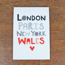 Iconic Places notepad