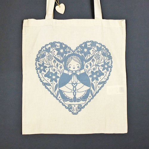 Welsh Doll Tote Bag