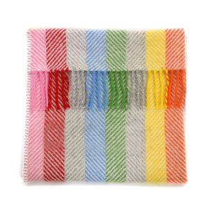 Tweedmill Rainbow Pram Blanket