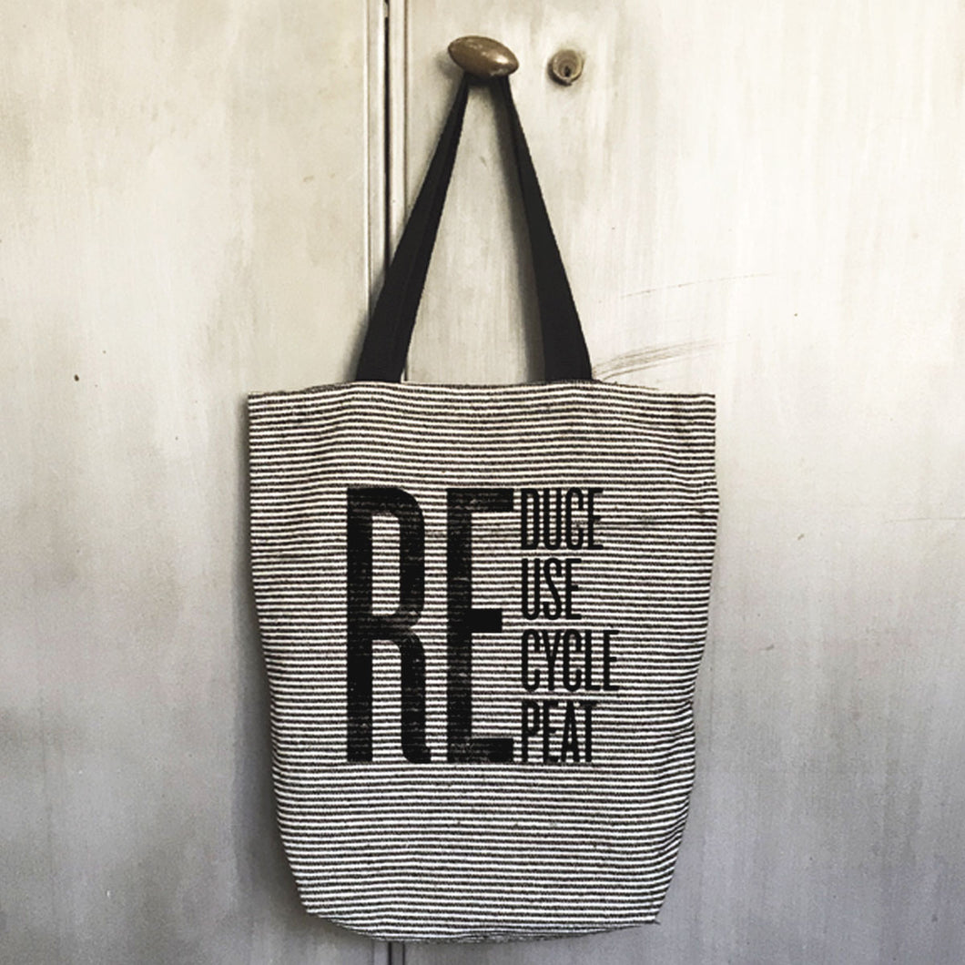 ReDuce Stripe Tote Bag