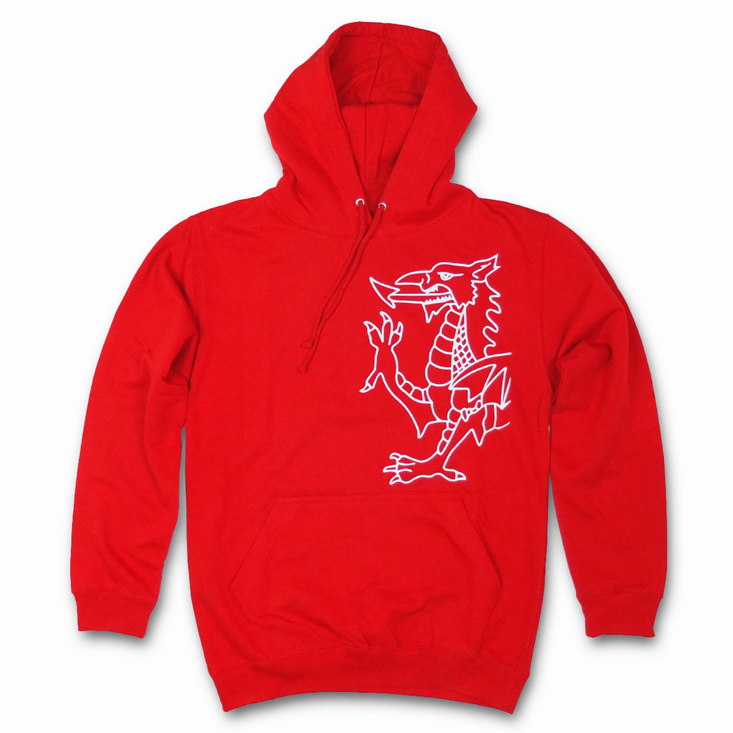 Dragon Hoody in Red