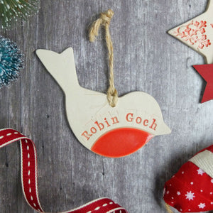 Robin Goch Decoration