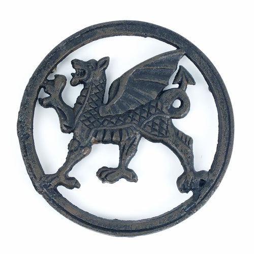 Cast Iron Welsh Round Trivet