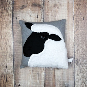 Small Felt Sheep Cushion