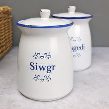 Welsh sugar Jar - Jar siwgr