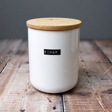 Siwgr Bone China Container