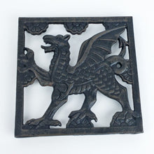 Cast Iron Welsh Square Trivet