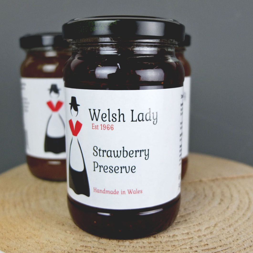 Welsh Lady Strawberry Preserve