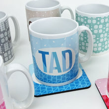 Tad Welsh Mug in Blue